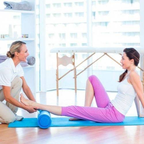 Sesión Fisioterapia Tratamiento Combinado en Ibi