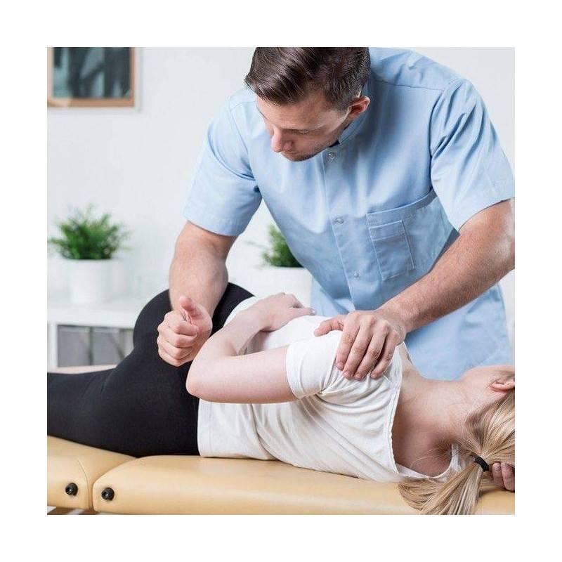 Sesión de Fisioterapia. Tratamiento Manual