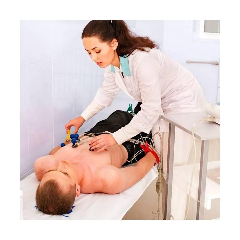 Consulta de Cardiología, Electrocardiograma y Ecocardiograma