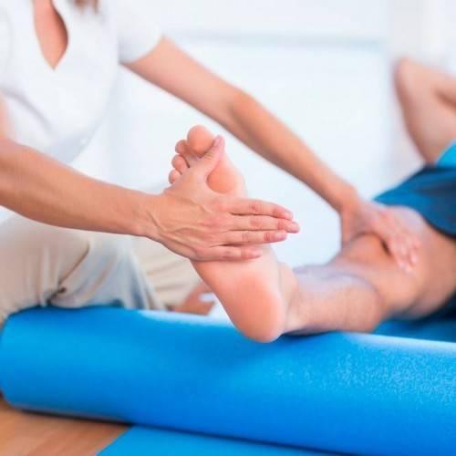 Sesión Fisioterapia Tratamiento Combinado en Granollers