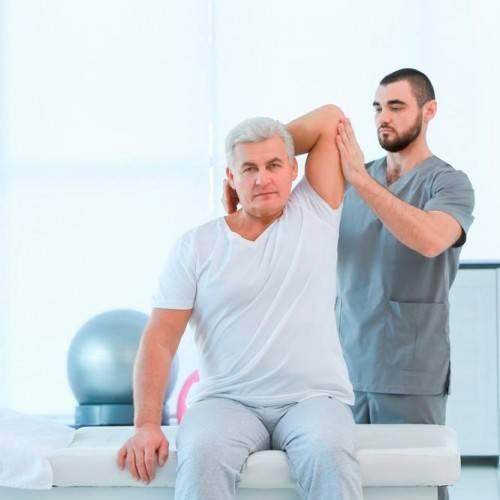 Sesión Fisioterapia Tratamiento Combinado en Manlleu