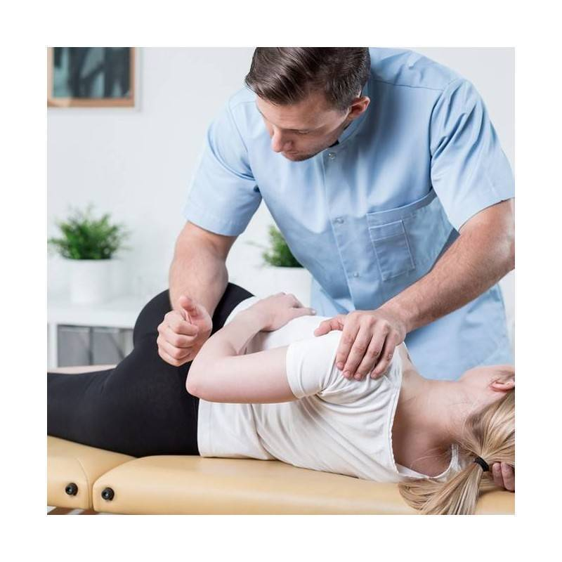 Sesión Fisioterapia Tratamiento Combinado