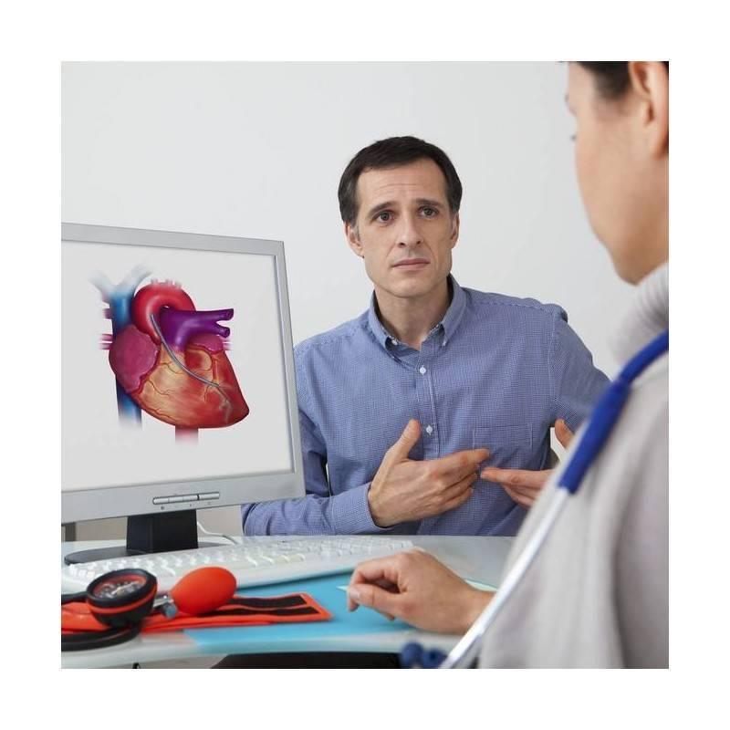 Consulta Cardiología y Rx Tórax