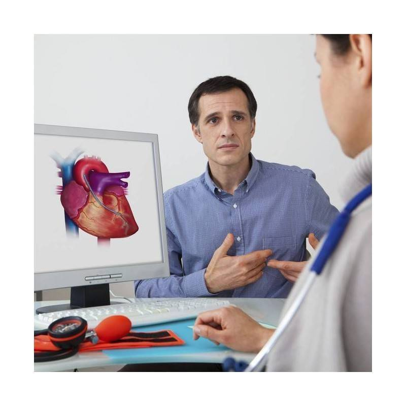 Para doppler preparacion color ecocardiograma