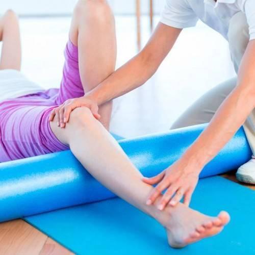Sesión Fisioterapia Tratamiento Combinado en Sama de langreo