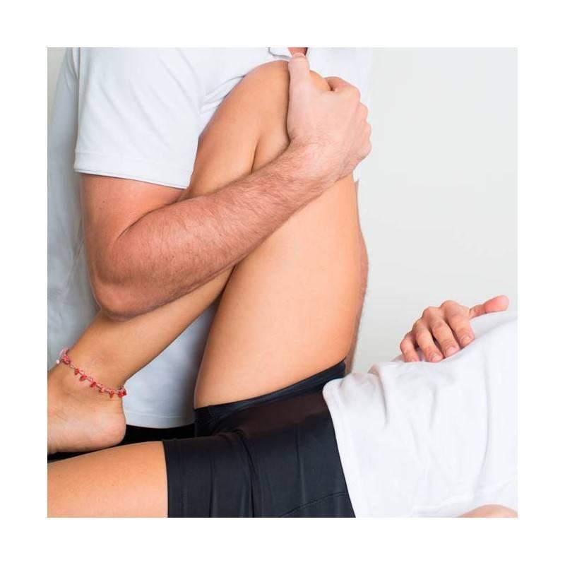 Sesión Fisioterapia Tratamiento Combinado en Marin