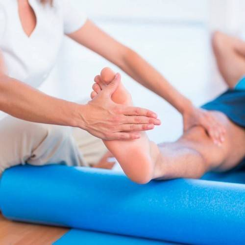 Sesión Fisioterapia Tratamiento Combinado en Plasencia