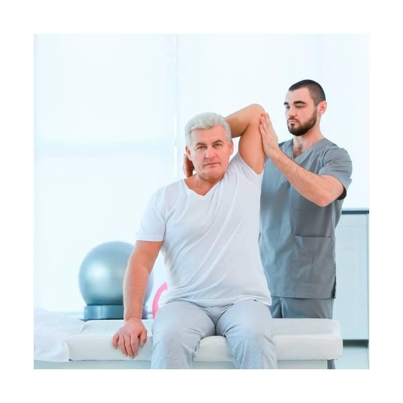 Sesión Fisioterapia Tratamiento Combinado en El ejido