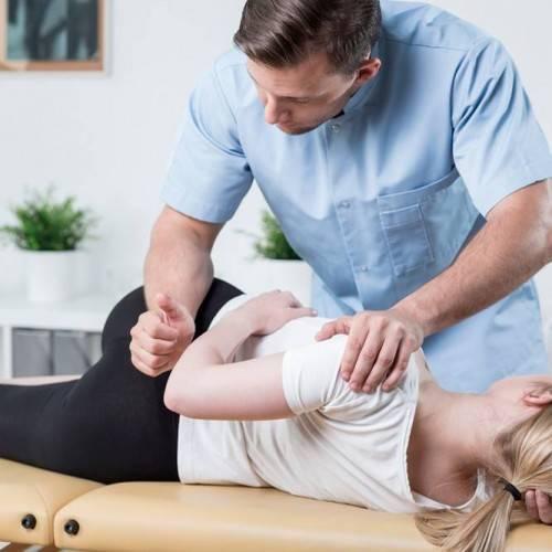 Sesión Fisioterapia Tratamiento Manual en Sama de langreo