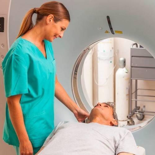 Resonancia Magnética Dos Zonas Anatómicas en Gandia